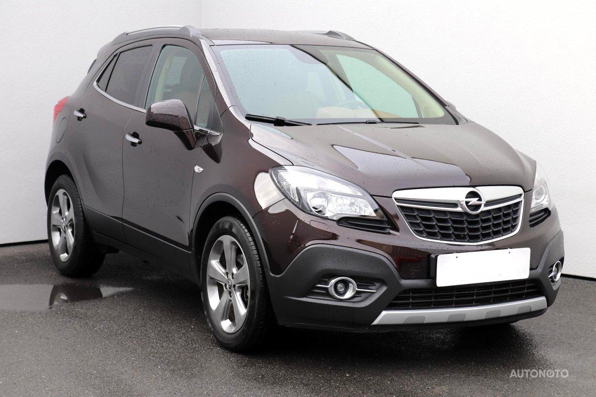Opel Mokka, 2013 - celkový pohled