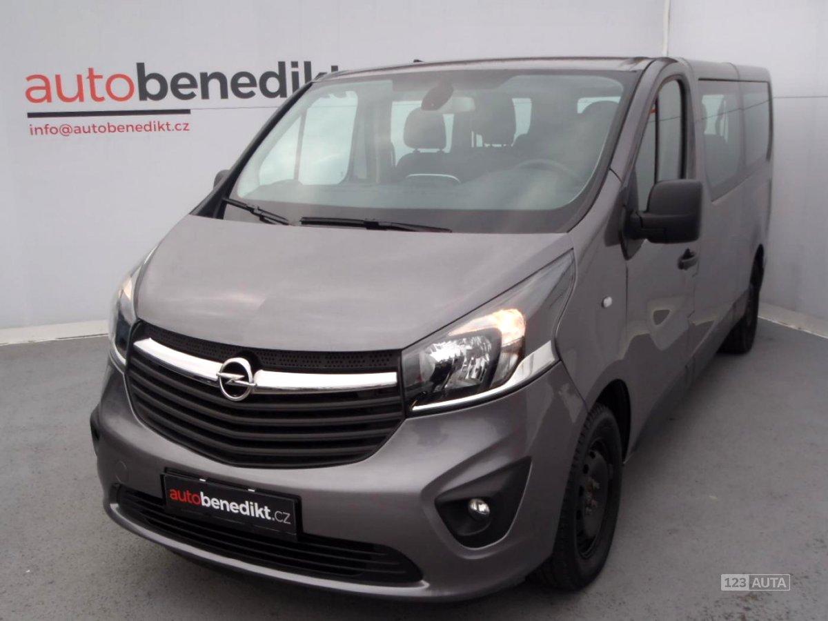 Opel Vivaro, 2015 - celkový pohled