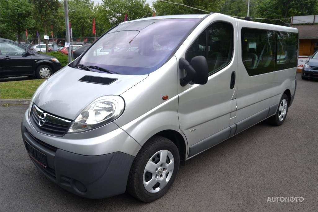 Opel Vivaro, 2012 - celkový pohled