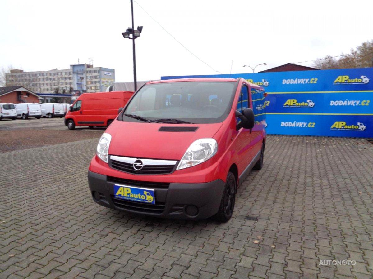 Opel Vivaro, 2014 - celkový pohled
