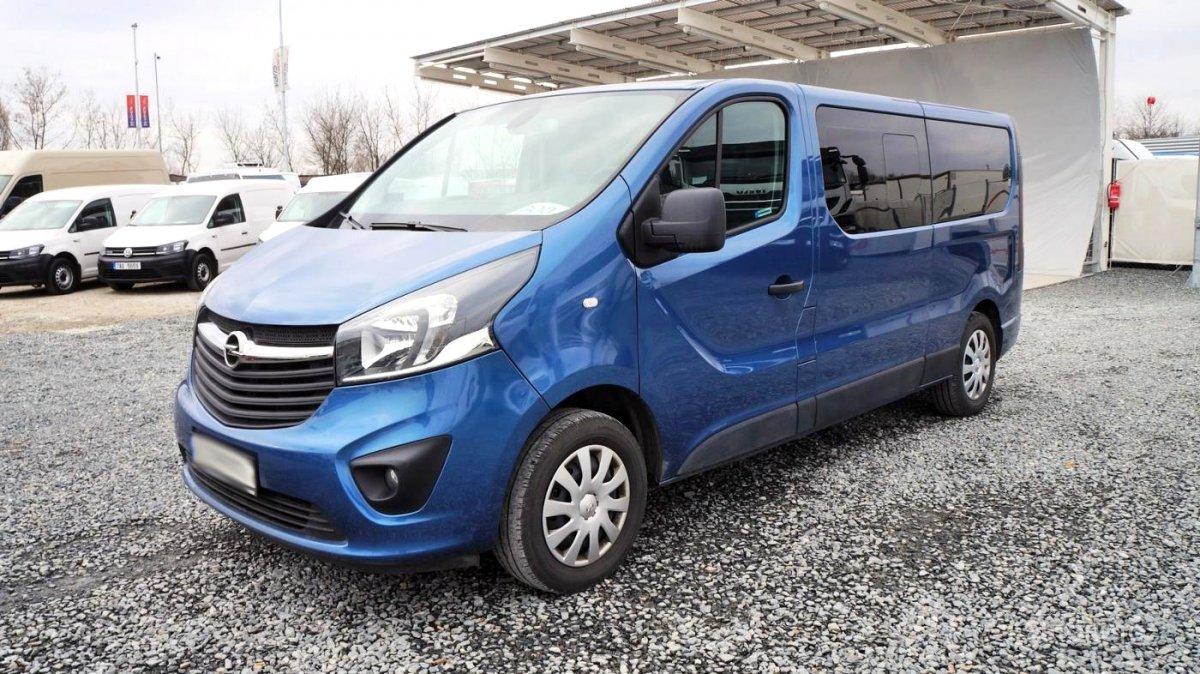 Opel Vivaro, 2016 - celkový pohled