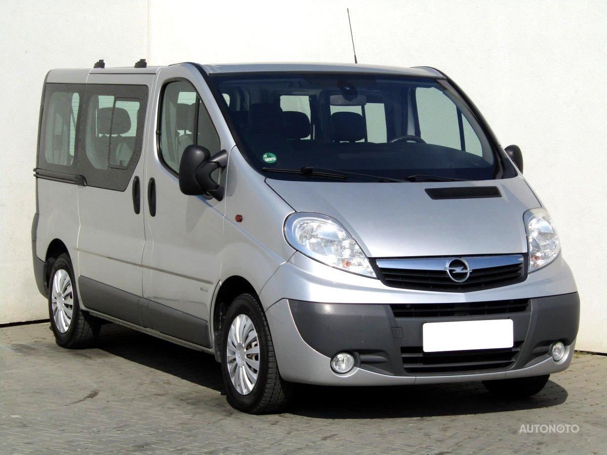 Opel Vivaro, 2007 - celkový pohled