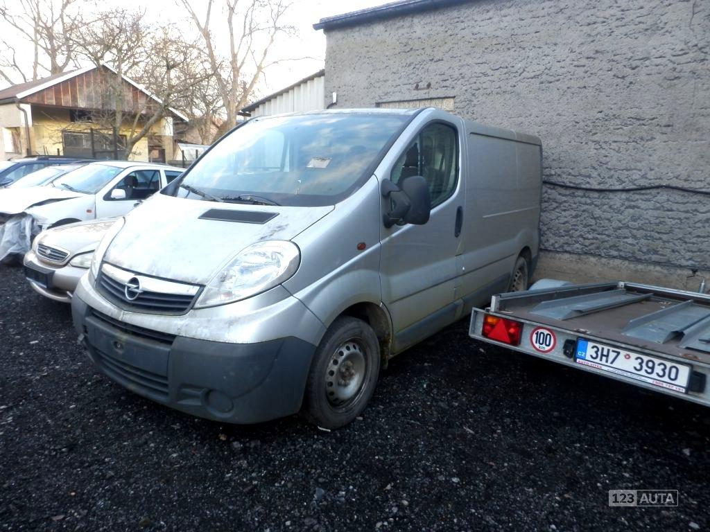 Opel Vivaro, 2008 - celkový pohled