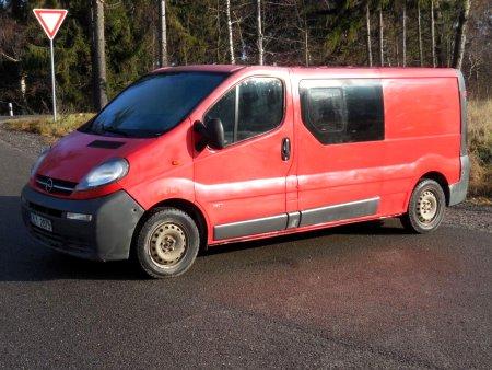 Opel Vivaro, 2005