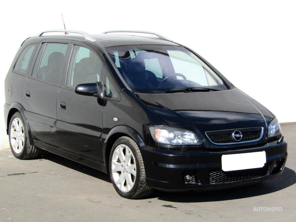 Opel Zafira, 2004 - celkový pohled