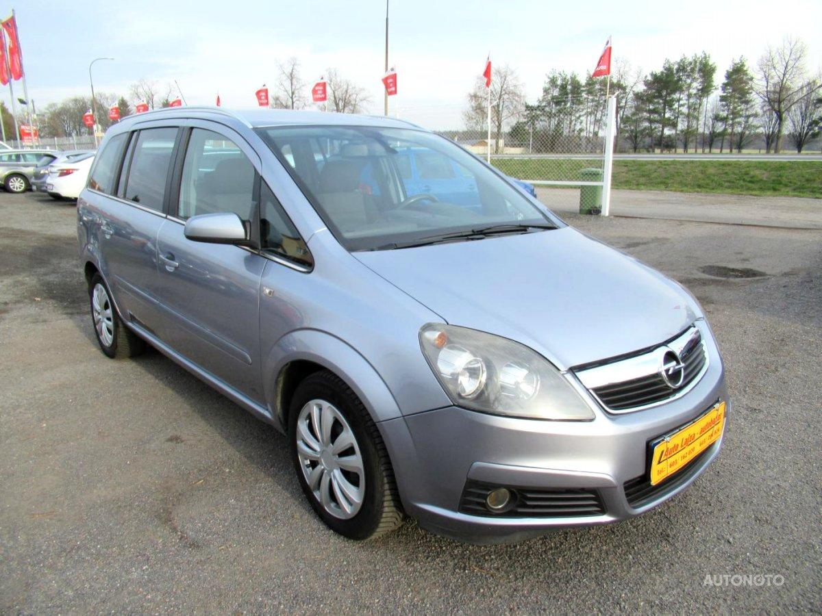 Opel Zafira, 2007 - celkový pohled