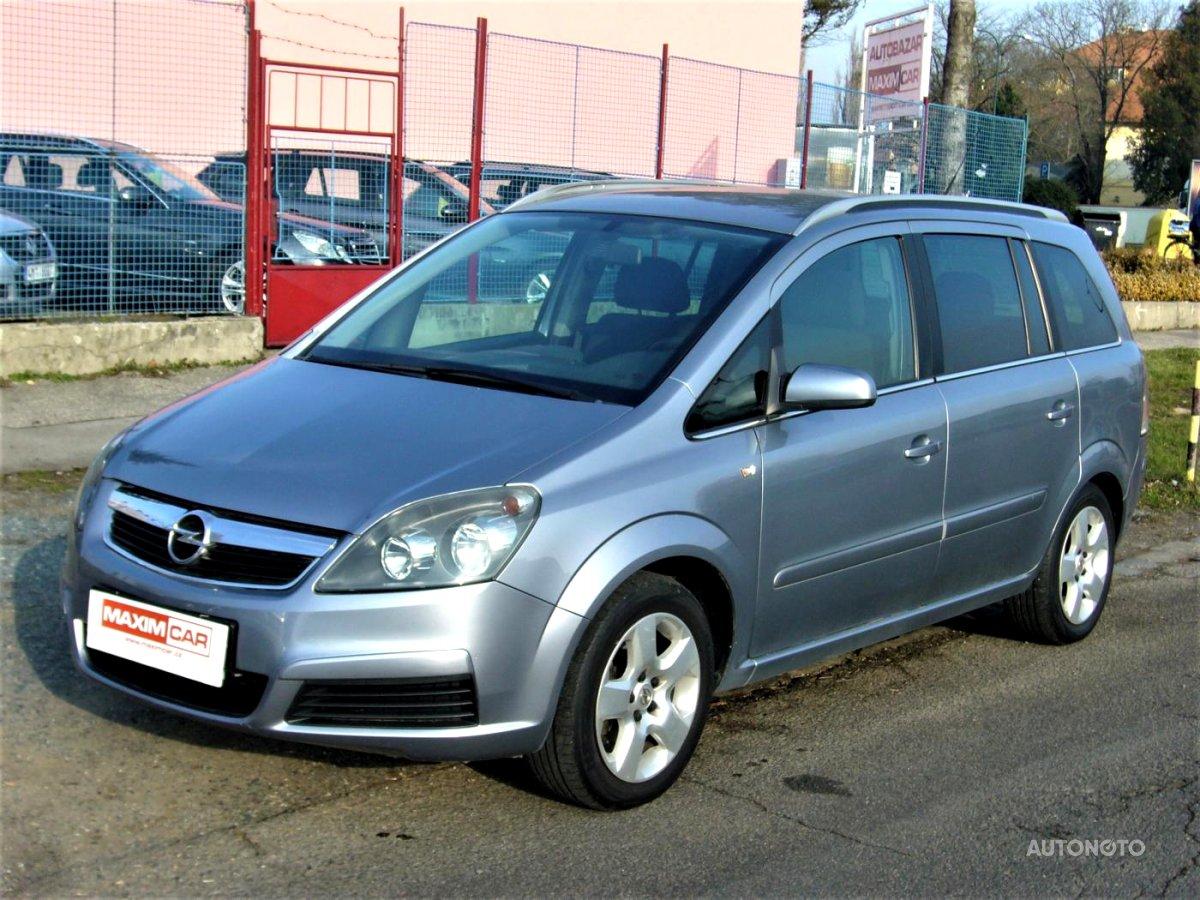 Opel Zafira, 0 - celkový pohled