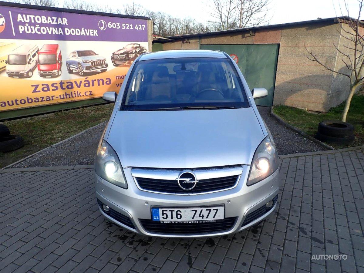 Opel Zafira, 2005 - celkový pohled