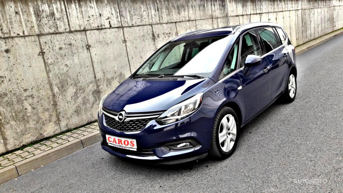 Opel Zafira, 2018 - celkový pohled