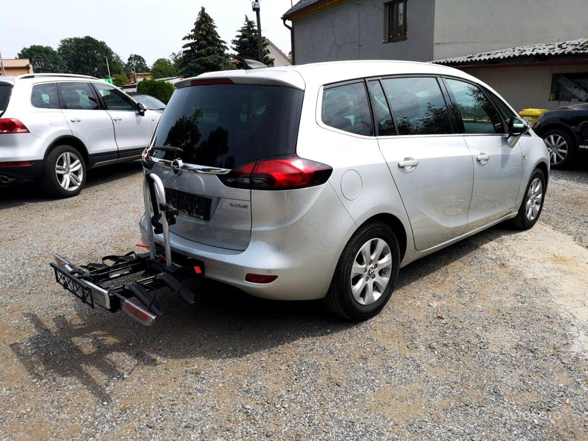 Opel Zafira, 2016 - celkový pohled
