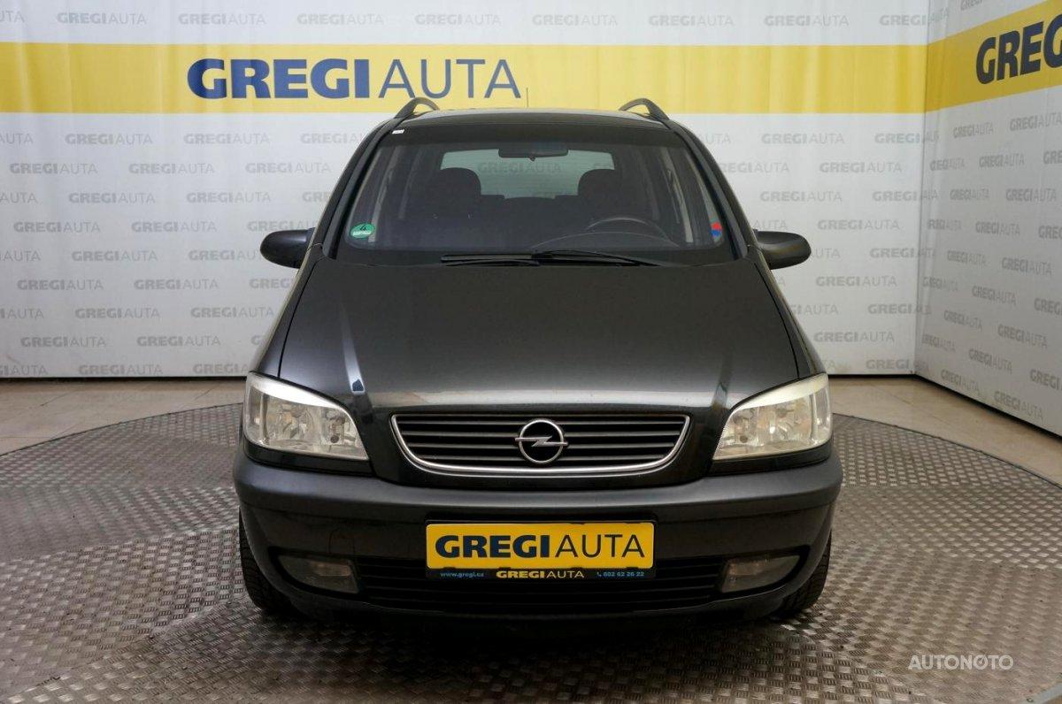 Opel Zafira, 2000 - celkový pohled