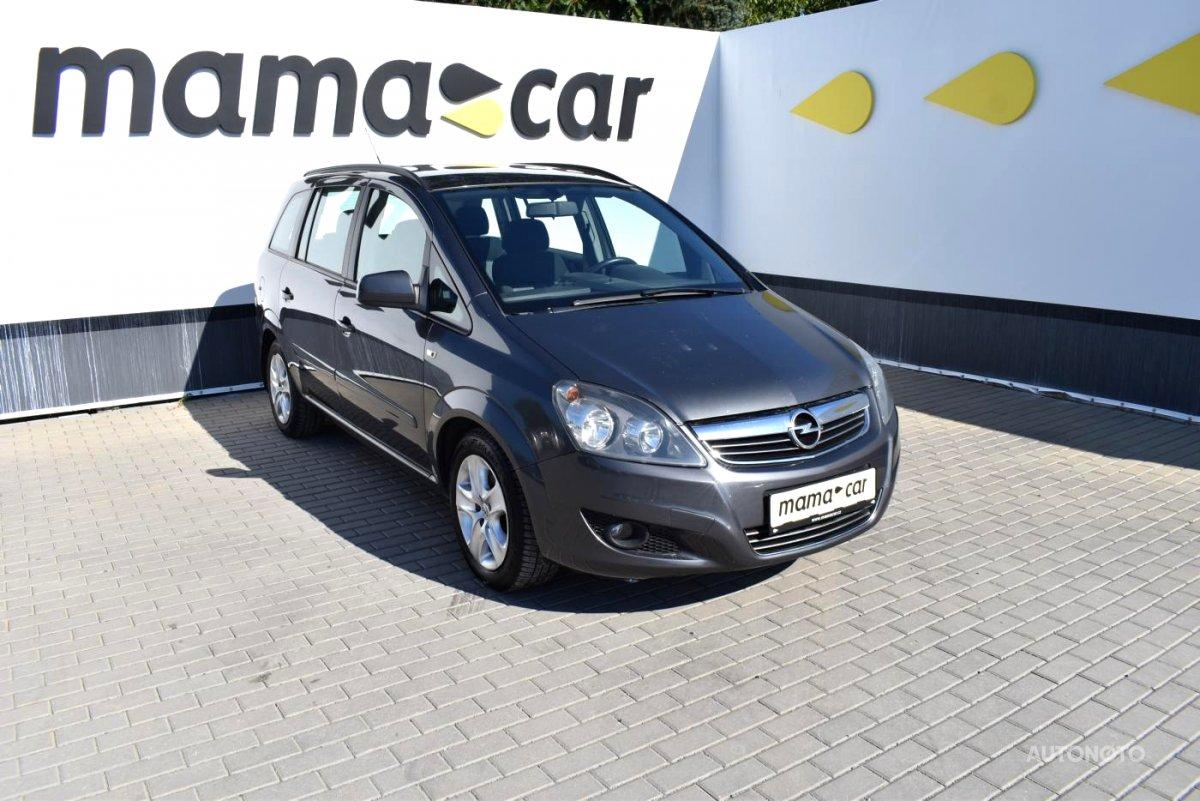 Opel Zafira, 2012 - celkový pohled