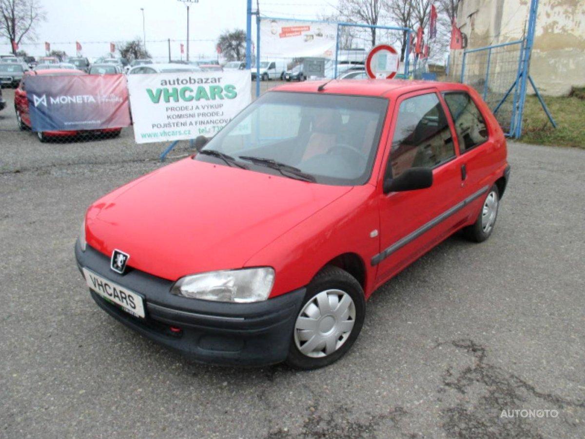 Peugeot 106, 2000 - celkový pohled