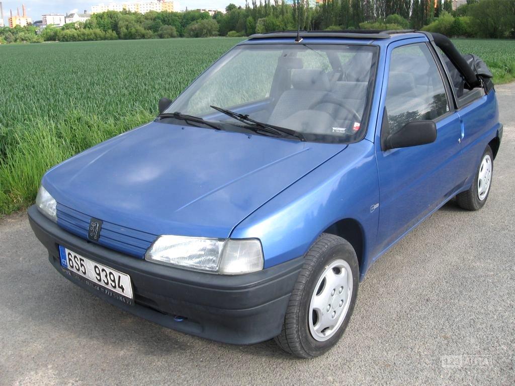 Peugeot 106, 1993 - celkový pohled