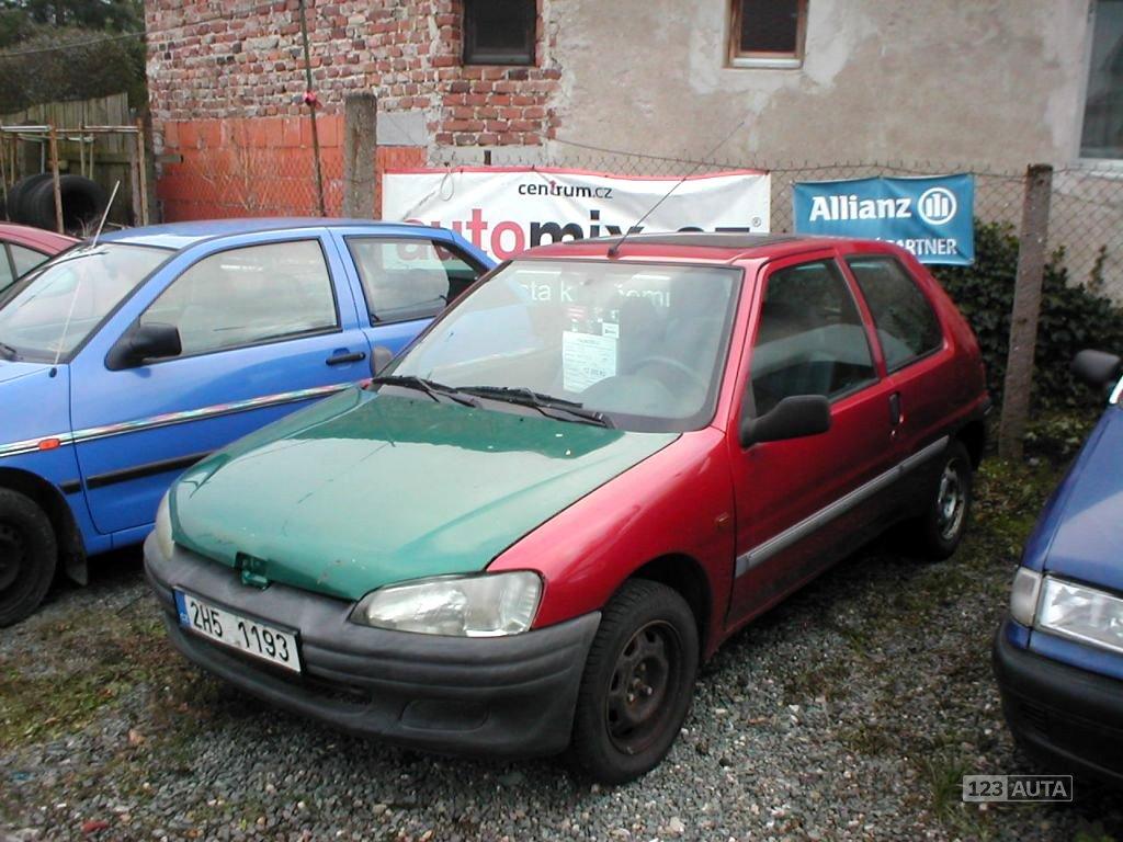 Peugeot 106, 1998 - celkový pohled