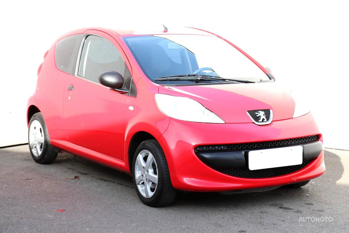 Peugeot 107, 2005 - celkový pohled