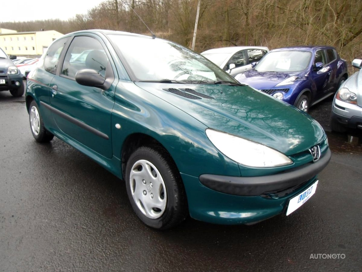 Peugeot 206, 1999 - celkový pohled