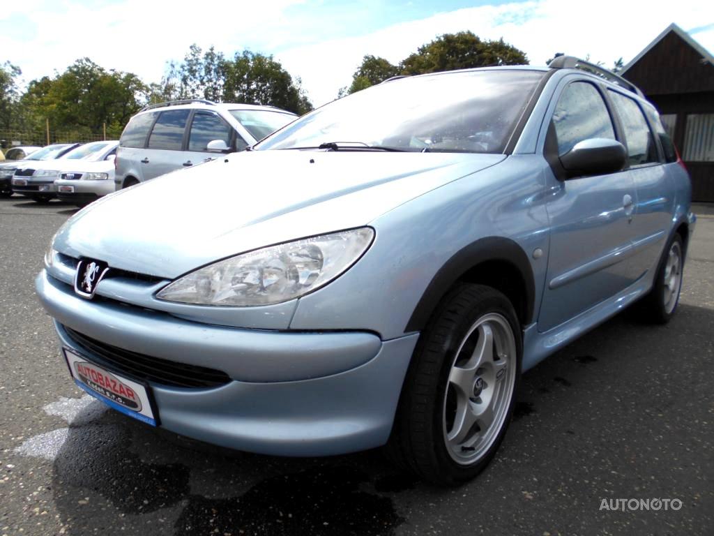 Peugeot 206, 2004 - celkový pohled