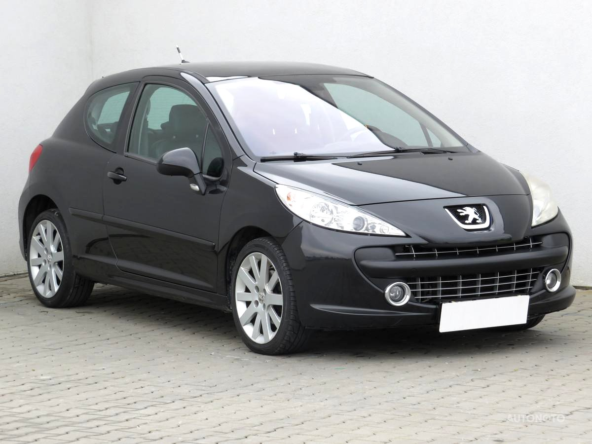 Peugeot 207, 2006 - celkový pohled