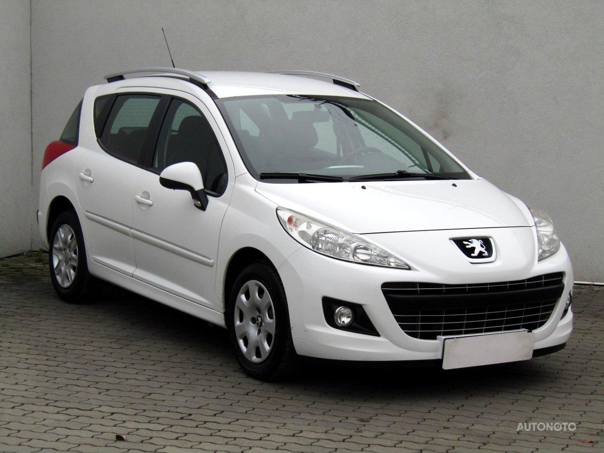 Peugeot 207, 2012 - celkový pohled