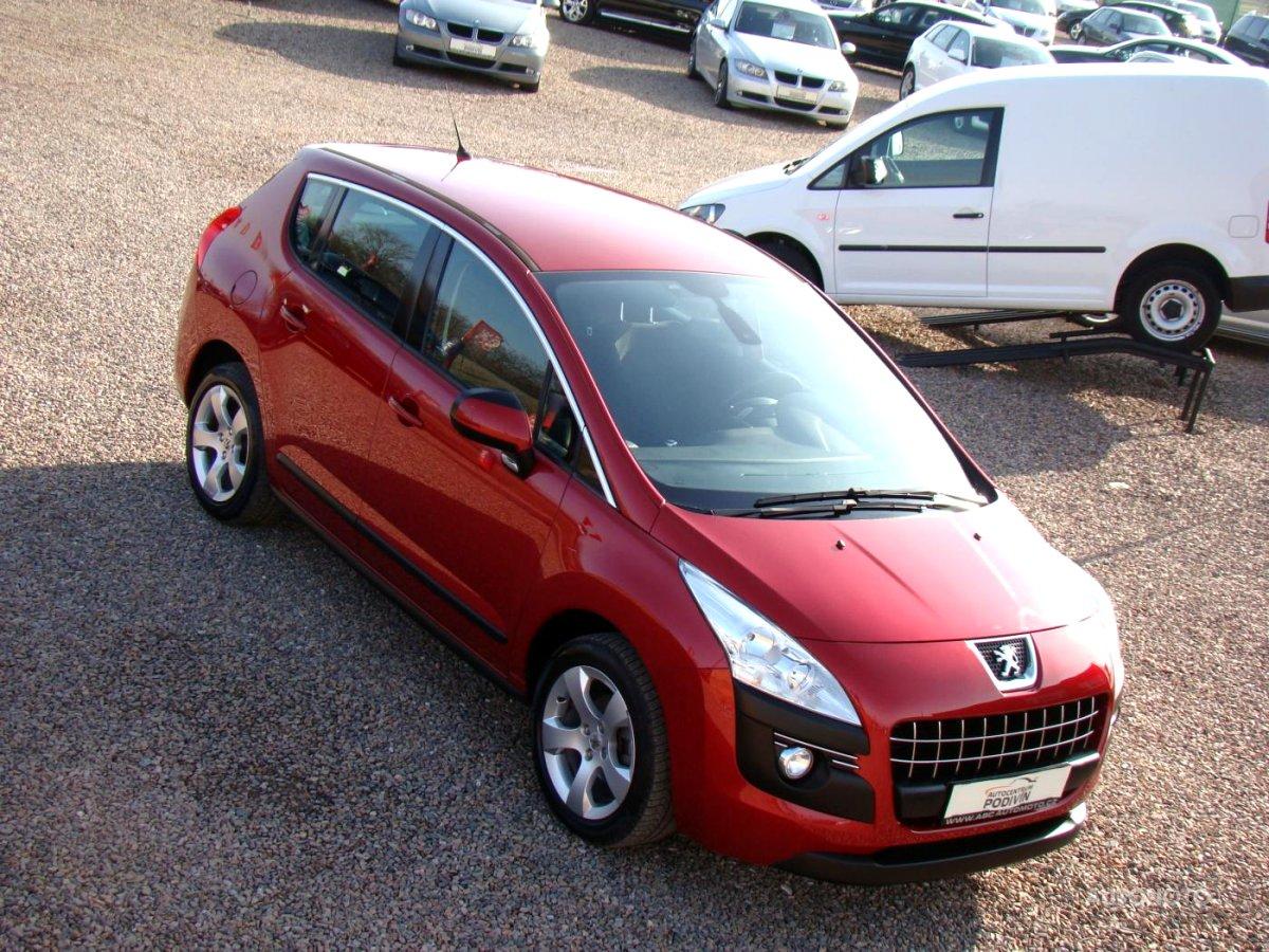 Peugeot 3008, 2010 - celkový pohled