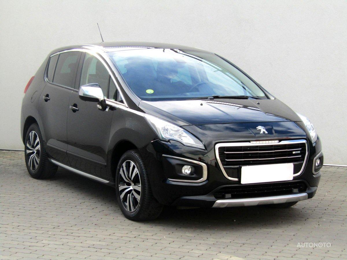 Peugeot 3008, 2015 - celkový pohled