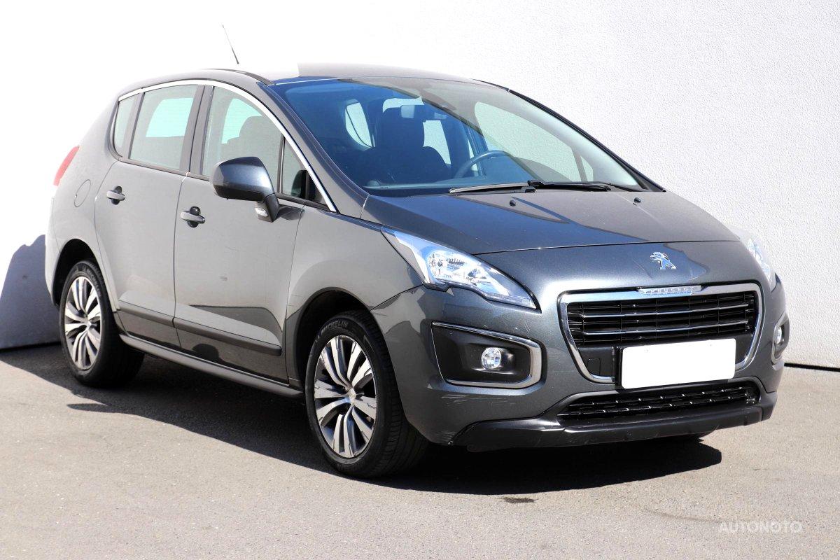 Peugeot 3008, 2014 - celkový pohled