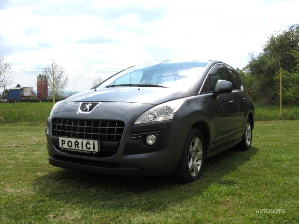 Peugeot 3008, 2011 - celkový pohled
