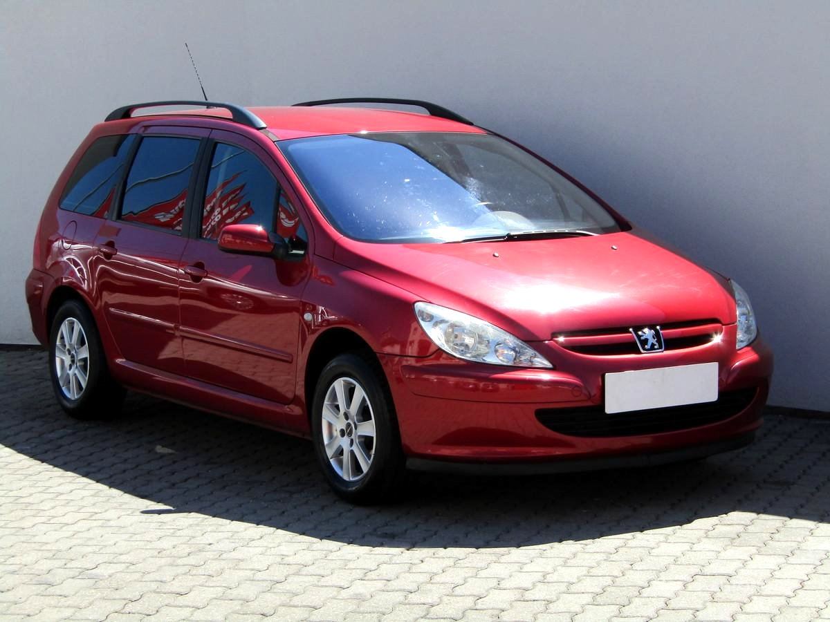 Peugeot 307, 2005 - celkový pohled