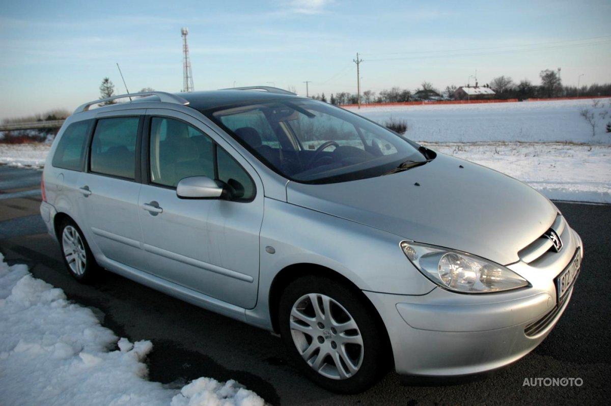 Peugeot 307, 2002 - celkový pohled