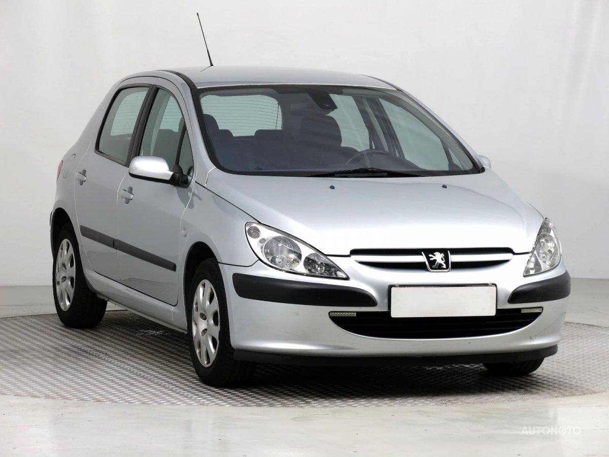 Peugeot 307, 2003 - celkový pohled