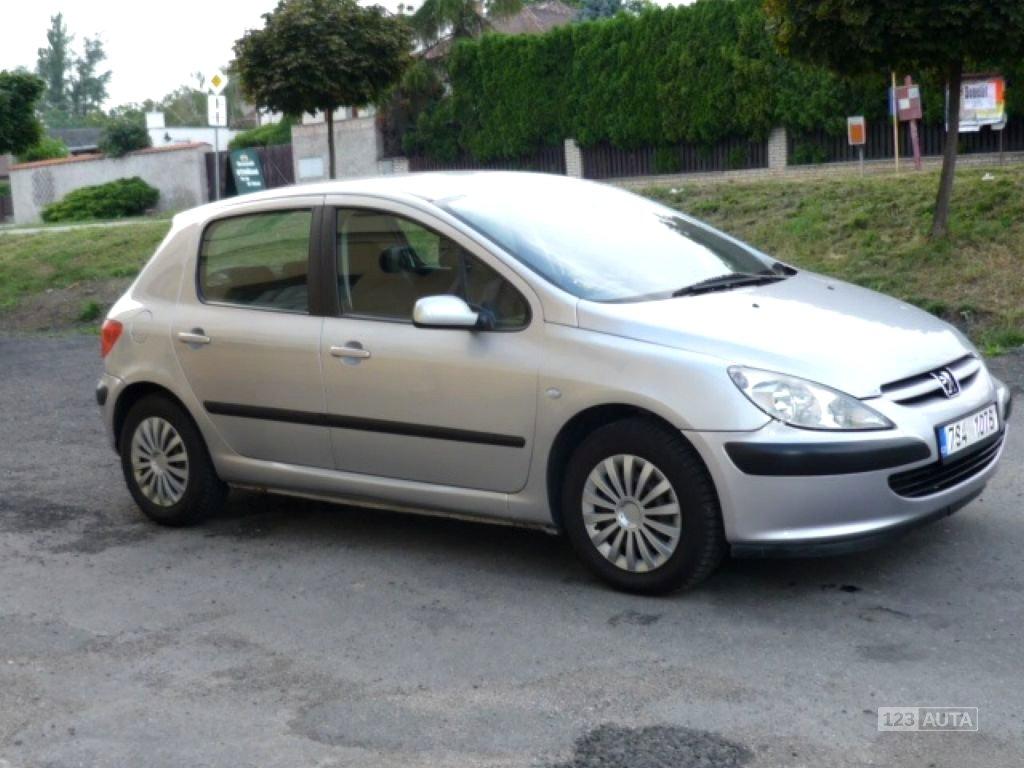 Peugeot 307, 2001 - celkový pohled