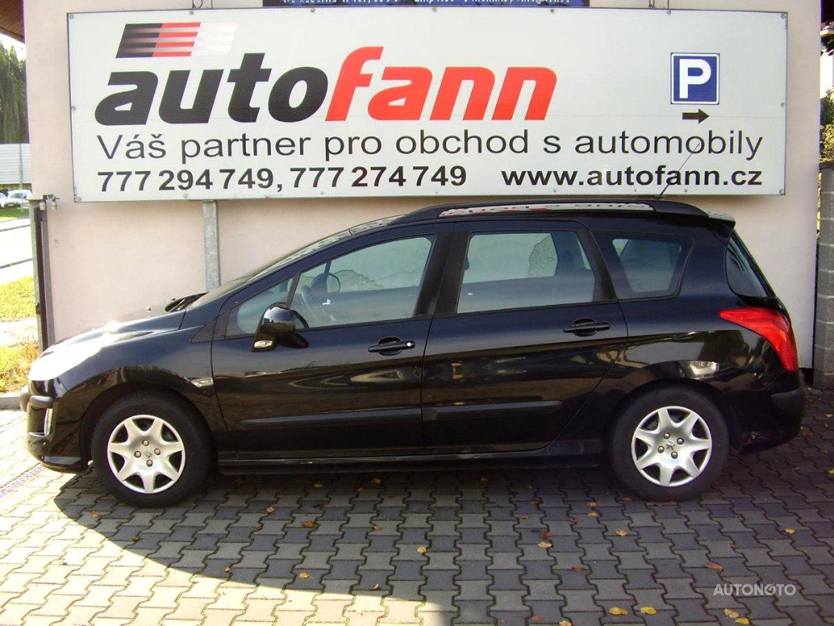 Peugeot 308, 2008 - celkový pohled