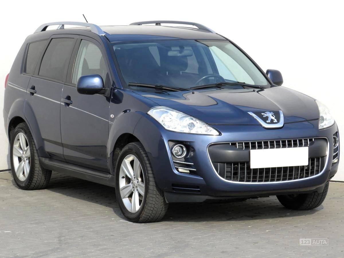Peugeot 4007, 2008 - celkový pohled