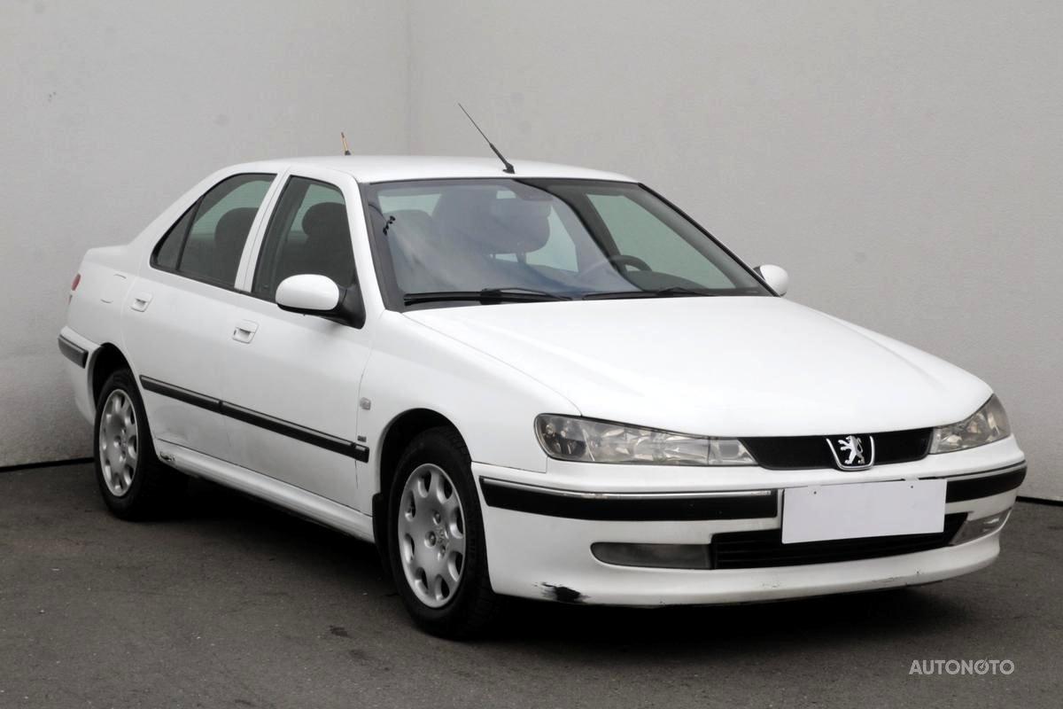 Peugeot 406, 2001 - celkový pohled