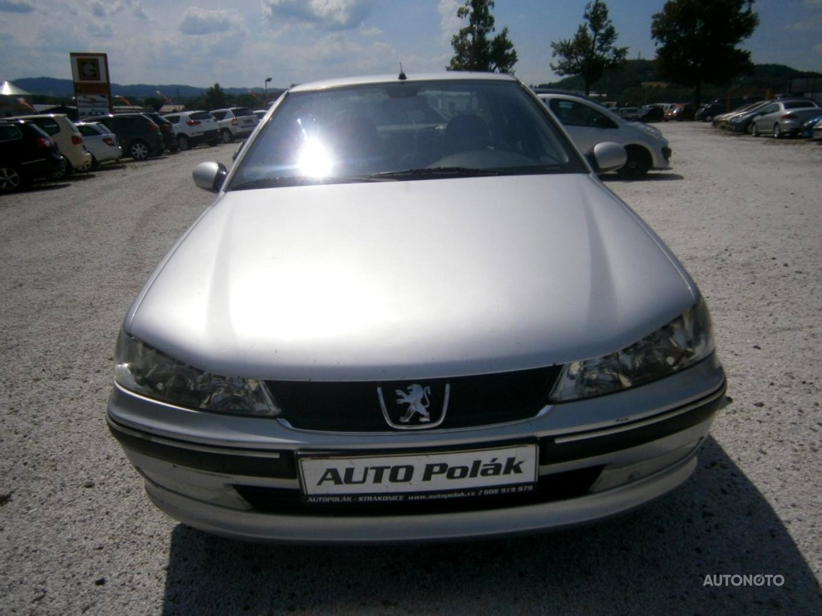 Peugeot 406, 2003 - celkový pohled