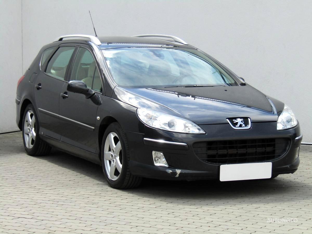 Peugeot 407, 2005 - celkový pohled