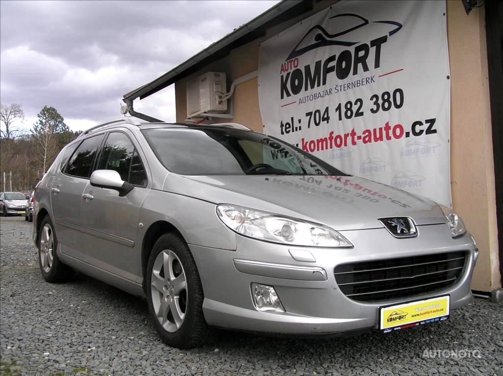 Peugeot 407, 2008 - celkový pohled