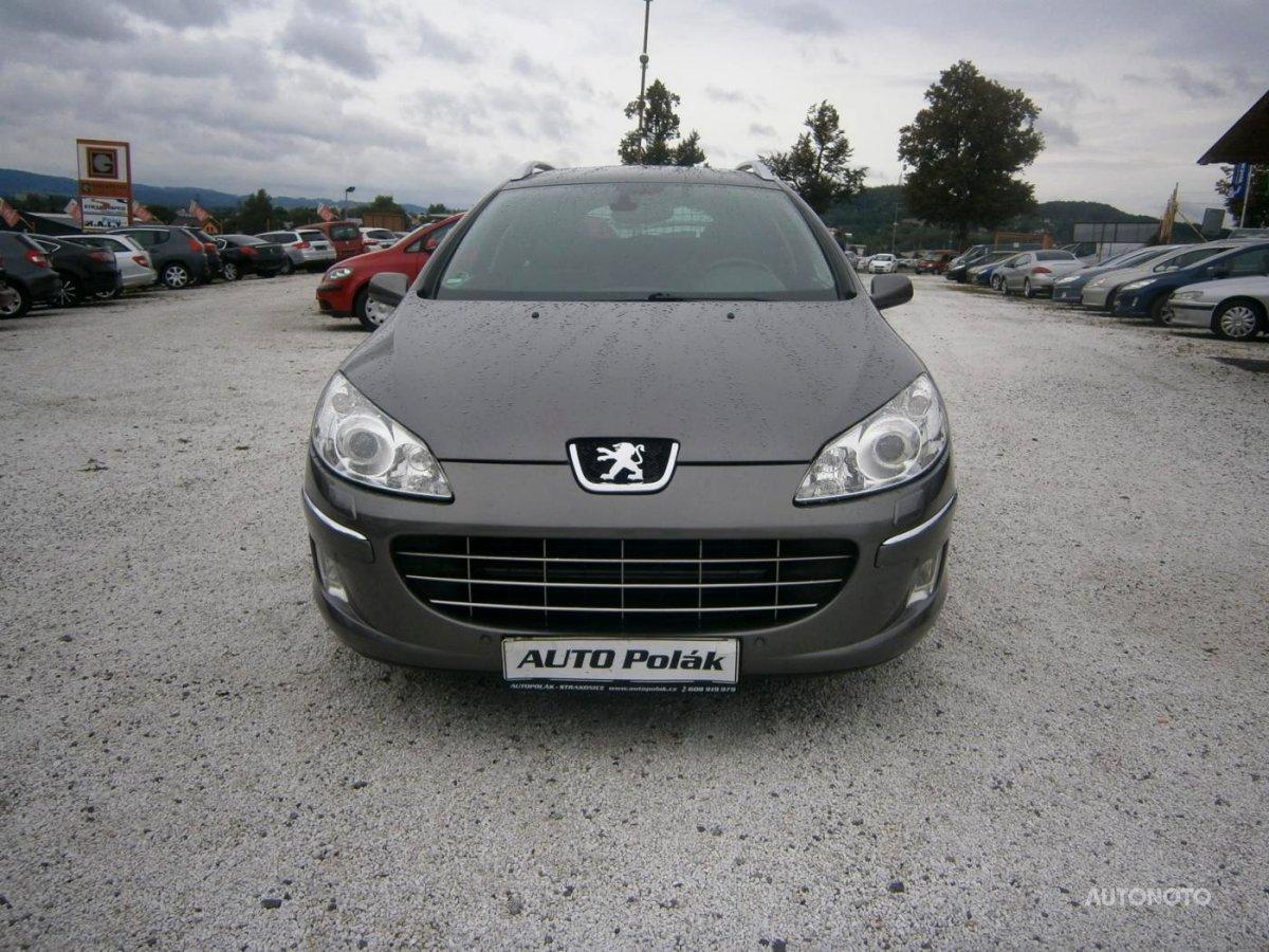 Peugeot 407, 2009 - celkový pohled