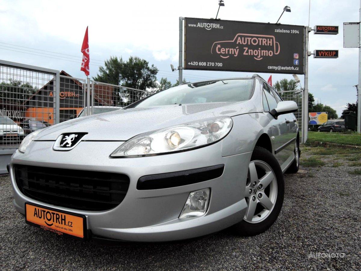 Peugeot 407, 2006 - celkový pohled