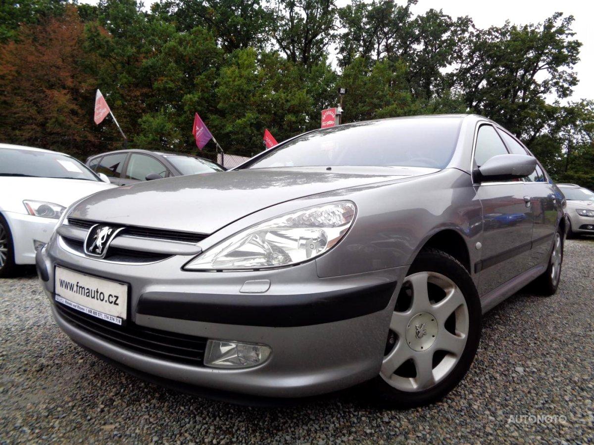 Peugeot 607, 2002 - celkový pohled