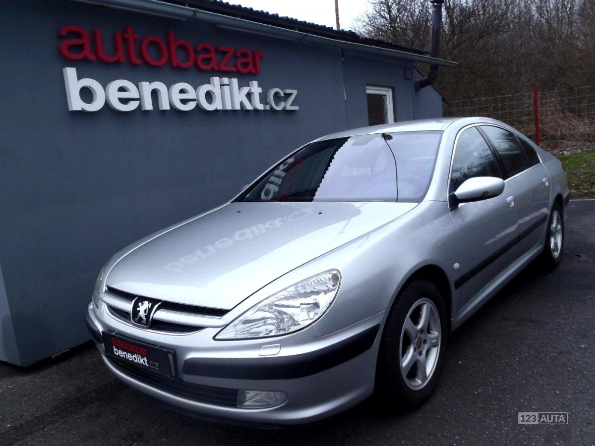 Peugeot 607, 2005 - celkový pohled