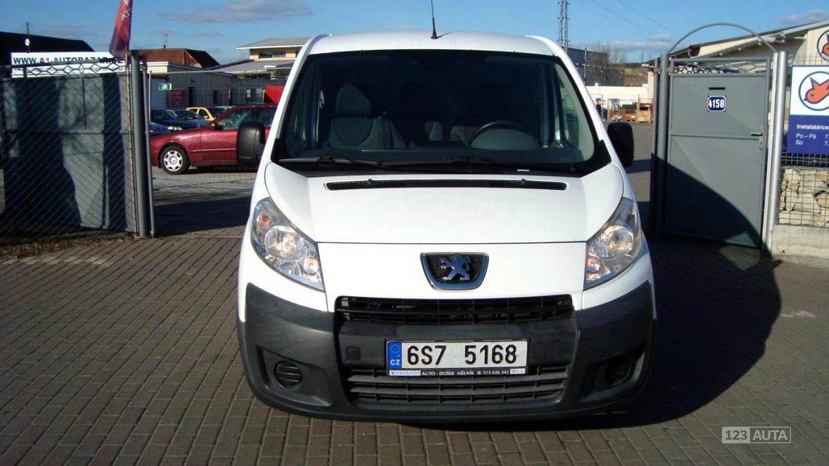 Peugeot Expert, 2007 - celkový pohled