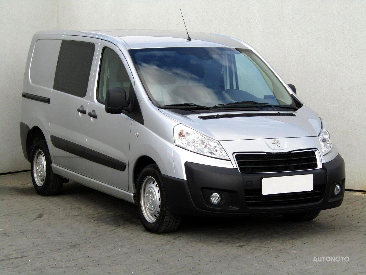 Peugeot Expert, 2014 - celkový pohled