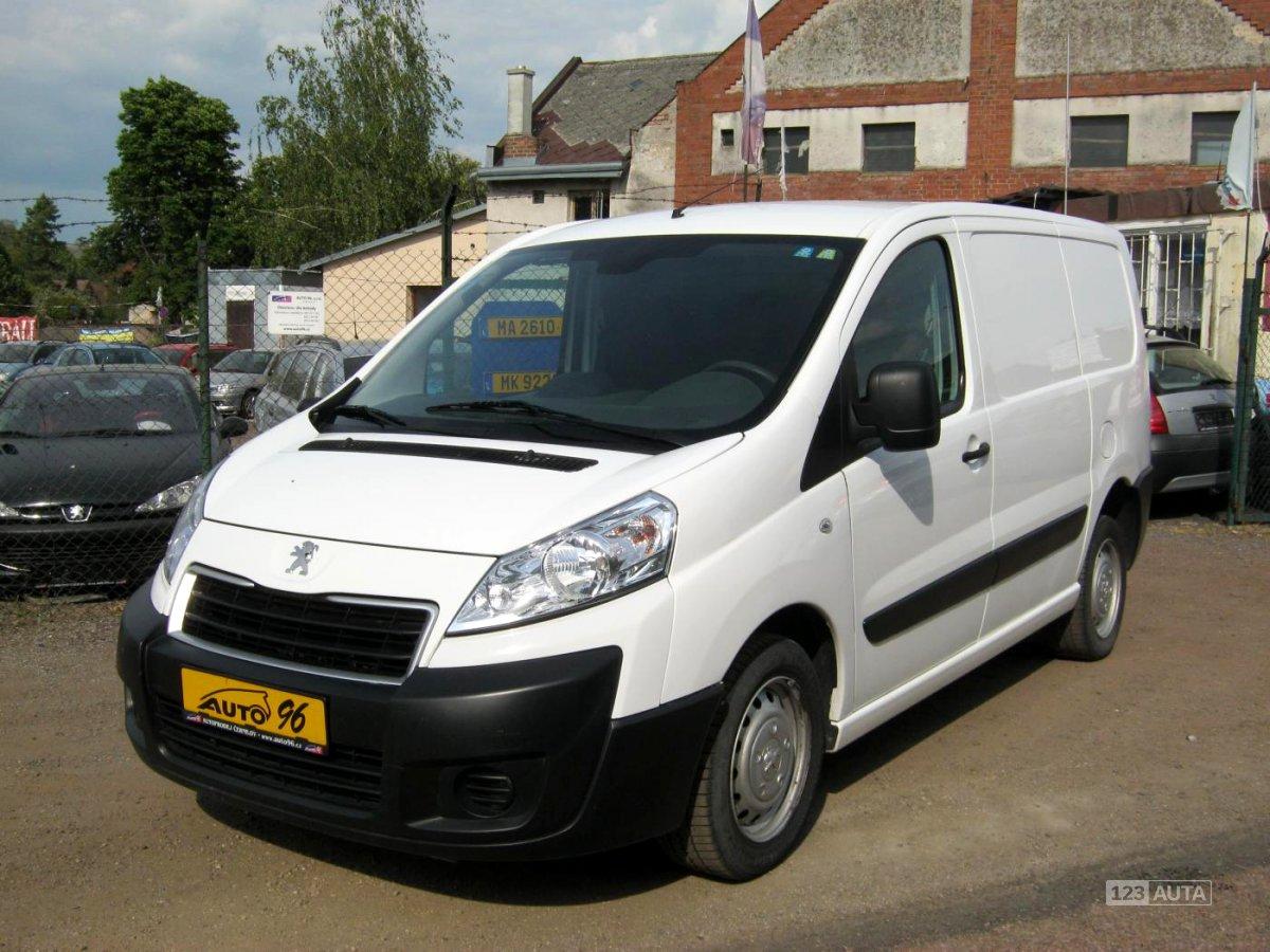 Peugeot Expert, 2013 - celkový pohled