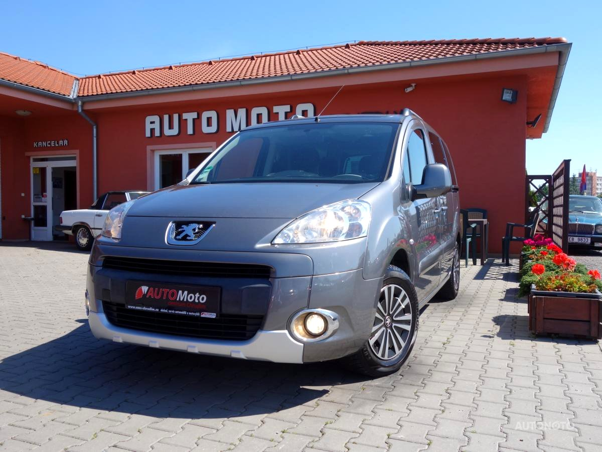Peugeot Partner Tepee, 2011 - celkový pohled