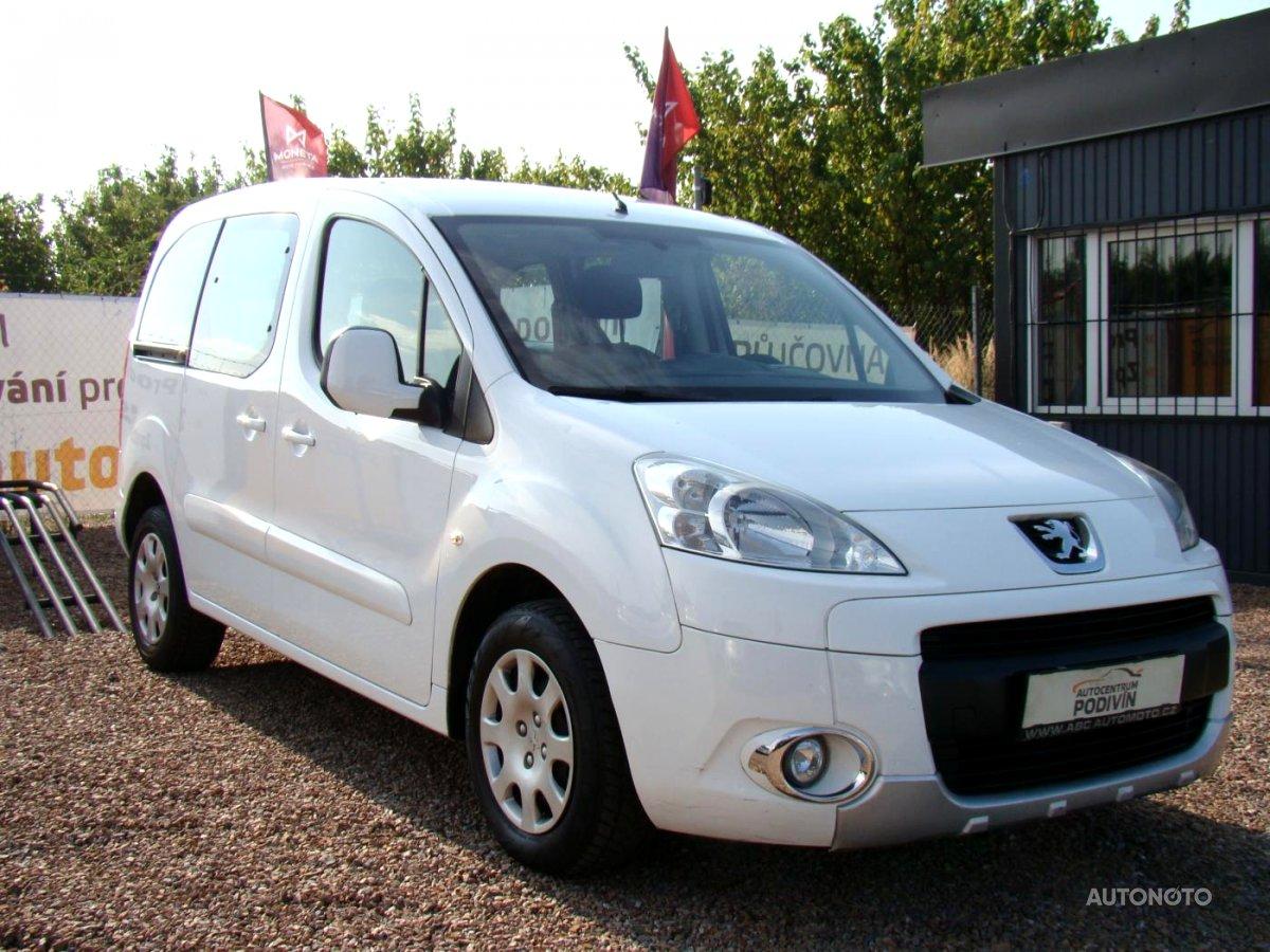 Peugeot Partner Tepee, 2012 - celkový pohled