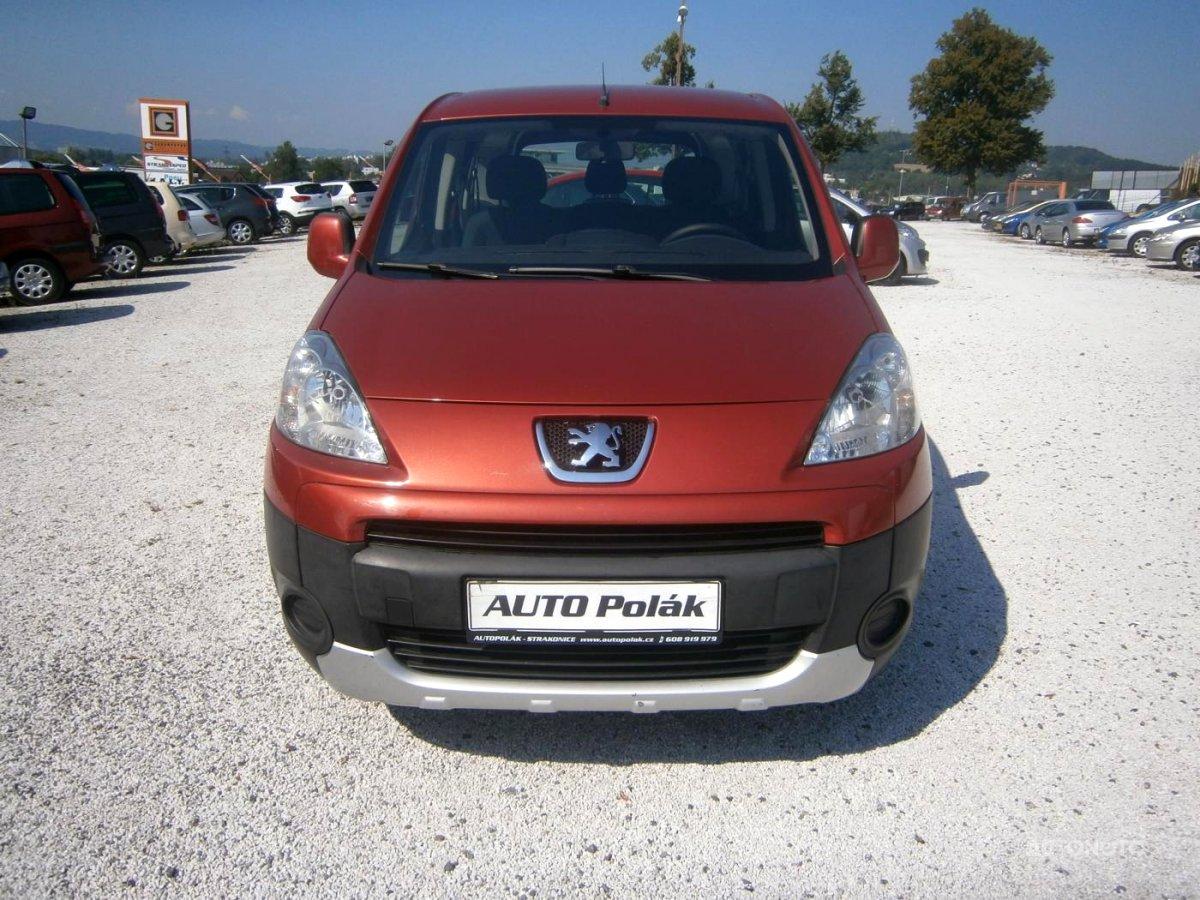 Peugeot Partner Tepee, 2009 - celkový pohled