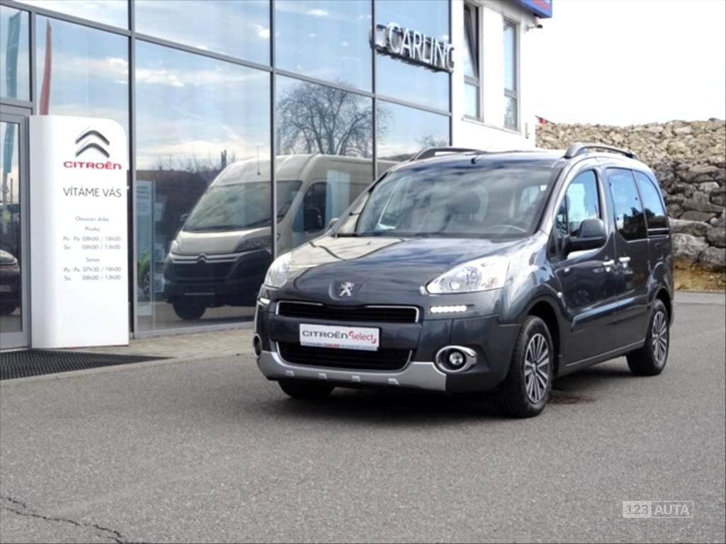Peugeot Partner Tepee, 2013 - celkový pohled