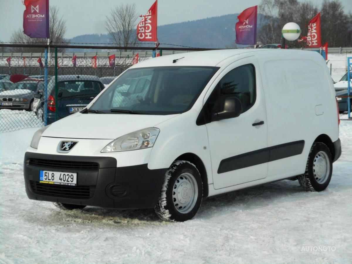 Peugeot Partner, 2009 - celkový pohled